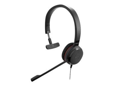 Jabra Evolve 30 II UC Mono - Headset - On-Ear - kabelgebunden - 3,5 mm Stecker