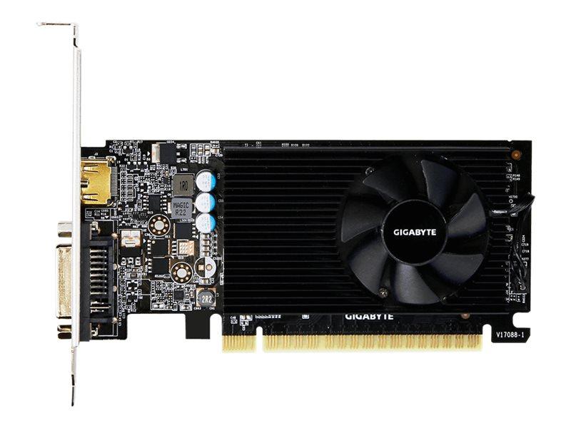 Gigabyte GV-N730D5-2GL - Grafikkarten - GF GT 730 - 2 GB GDDR5 - PCIe 2.0 x8 - DVI, HDMI