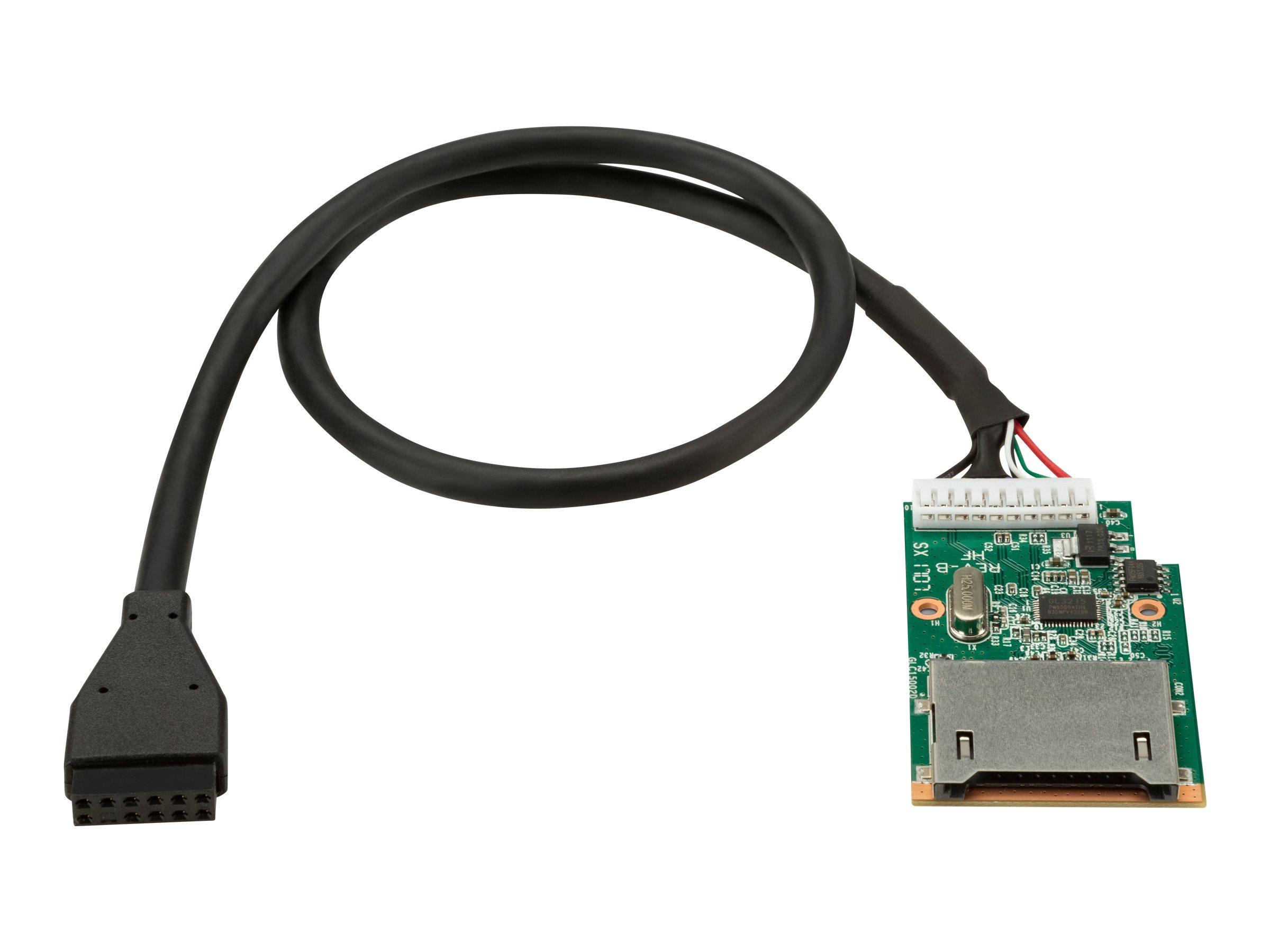 HP - Kartenleser (SD) - für Workstation Z2 Mini G4 High Performance, Z6 G4, Z8 G4