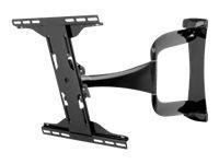 Peerless-AV Designer Series SUA747PU - Befestigungskit (Gelenkwandmontage) für LCD-/Plasmafernseher - Hochglanz Schwarz - Bildsc