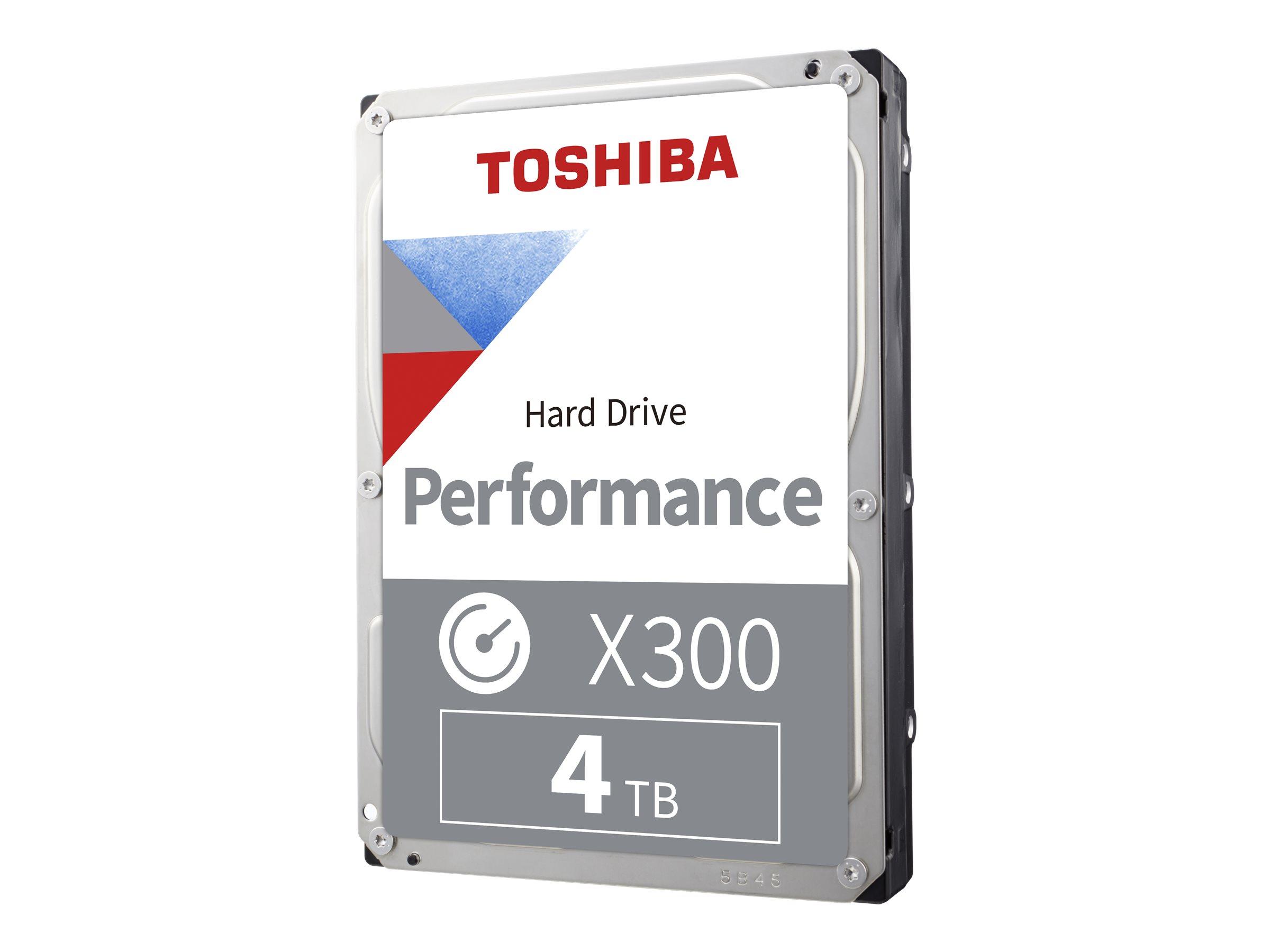 Toshiba X300 Performance - Festplatte - 4 TB - intern - 3.5
