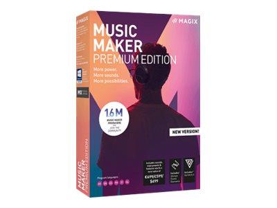 MAGIX Music Maker 2019 Premium Edition - Box-Pack - 1 Benutzer - DVD - Win - Mehrsprachig
