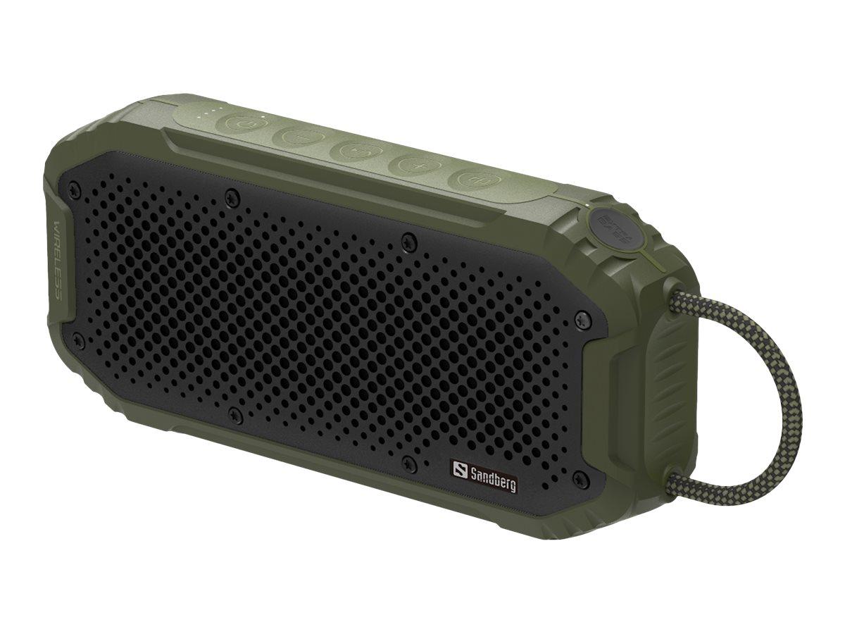 Sandberg Waterproof Bluetooth Speaker - Lautsprecher - tragbar - kabellos - Bluetooth - 20 Watt