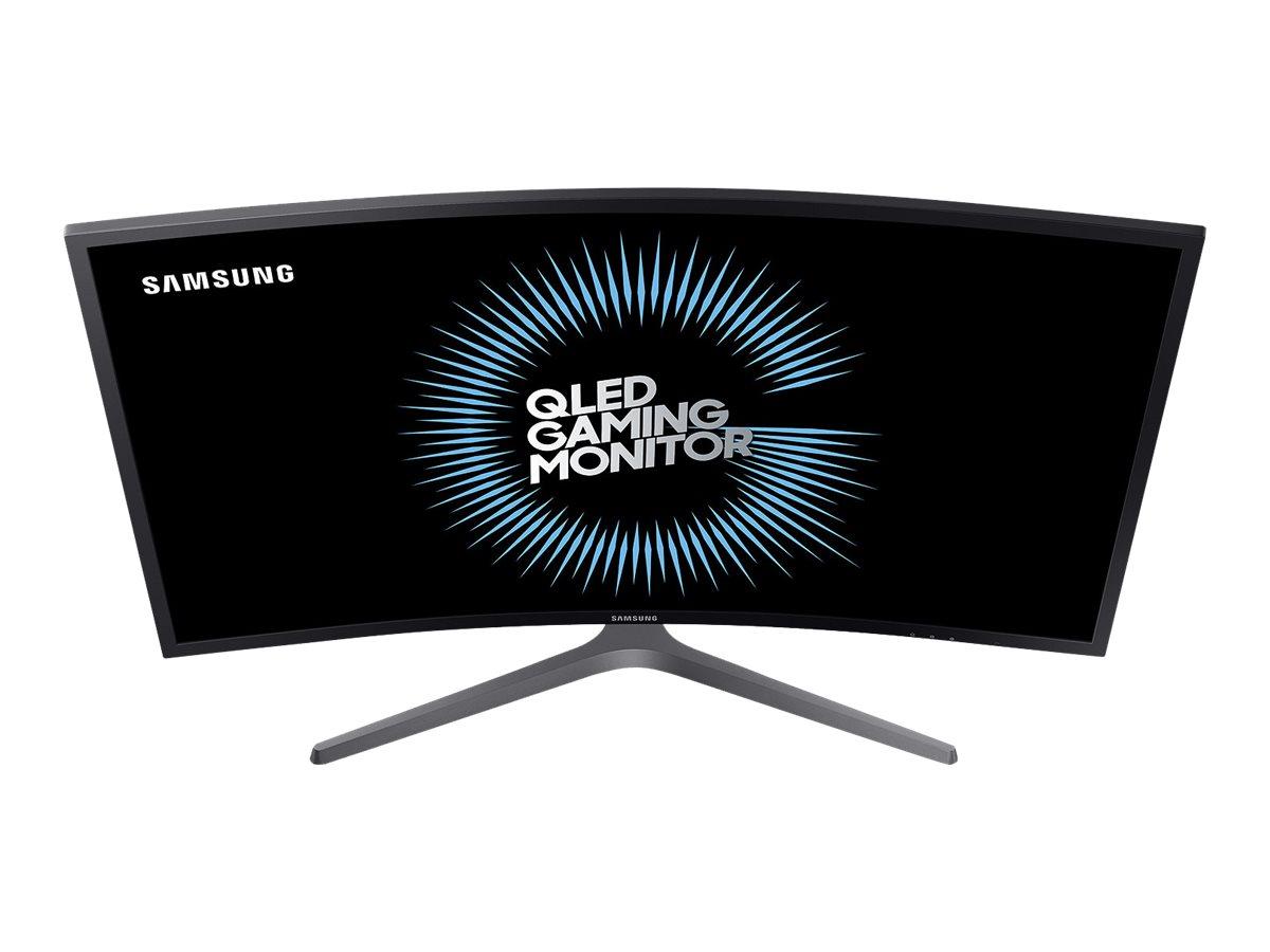 Samsung C27HG70QQU - CHG7 Series - QLED-Monitor - gebogen - 68.6 cm (27