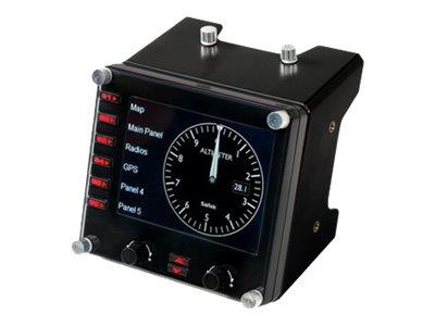 Saitek Pro Flight Instrument Panel - Flugsimulator-Instrumentenbrett - kabelgebunden - für PC