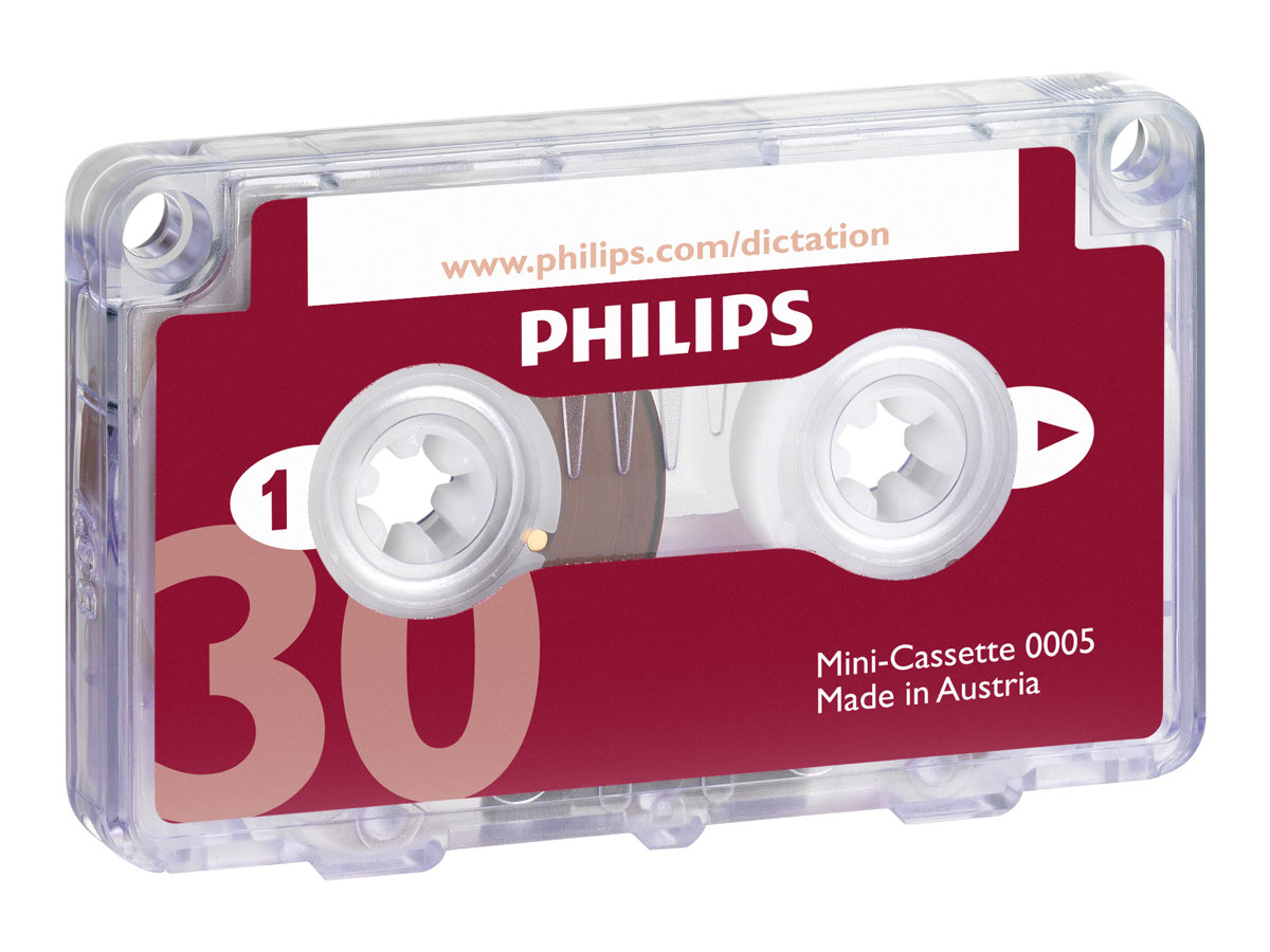 Philips - Minikassette - 1 x 30min