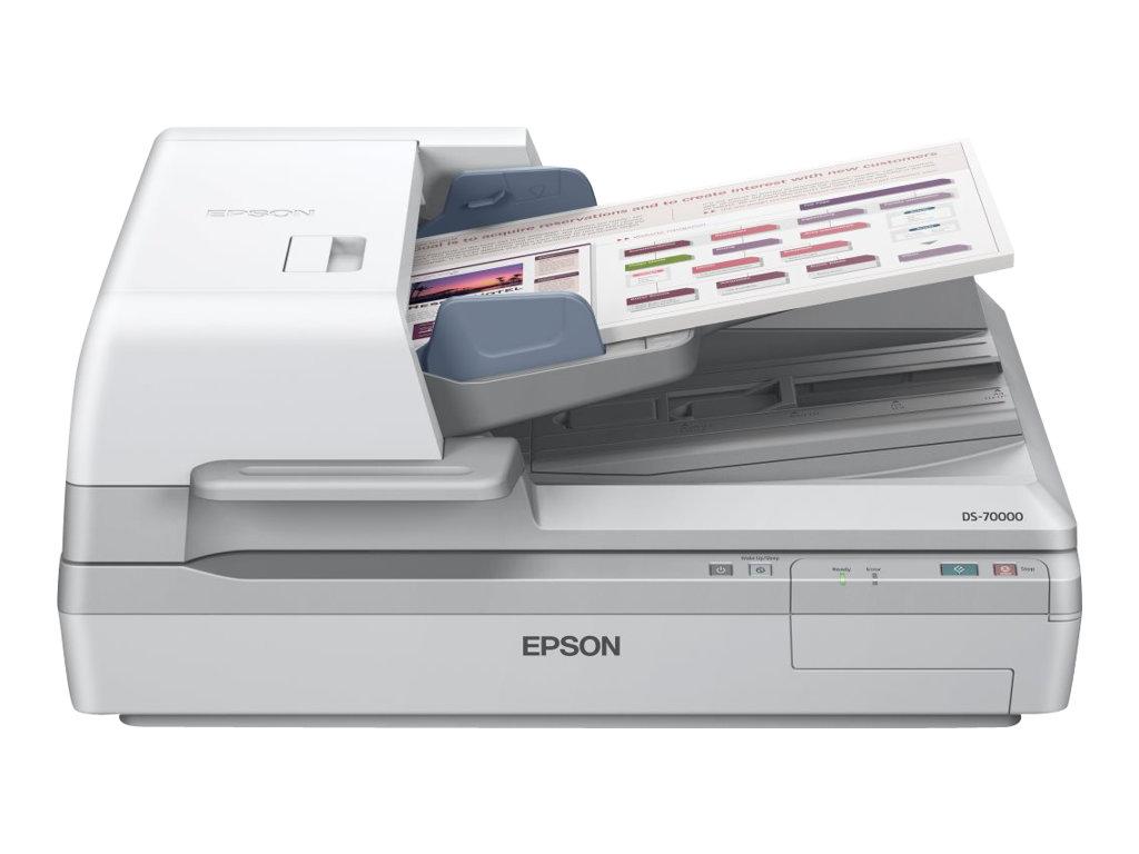 Epson WorkForce DS-70000 - Dokumentenscanner - Duplex - A3 - 600 dpi x 600 dpi - bis zu 70 Seiten/Min. (einfarbig) / bis zu 70 S