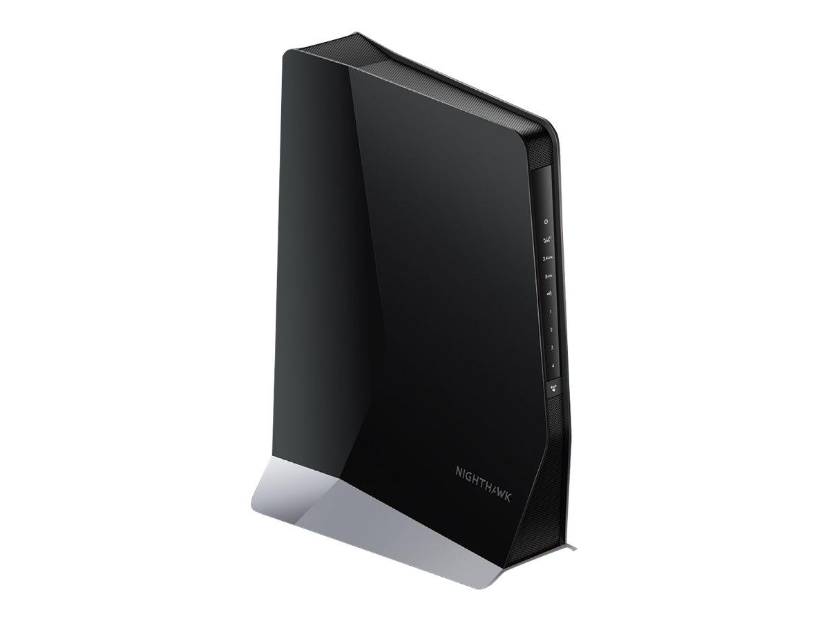 NETGEAR Nighthawk AX8 EAX80 - Wi-Fi-Range-Extender - 4 Anschlüsse - GigE, 802.11ax - Wi-Fi - Dualband