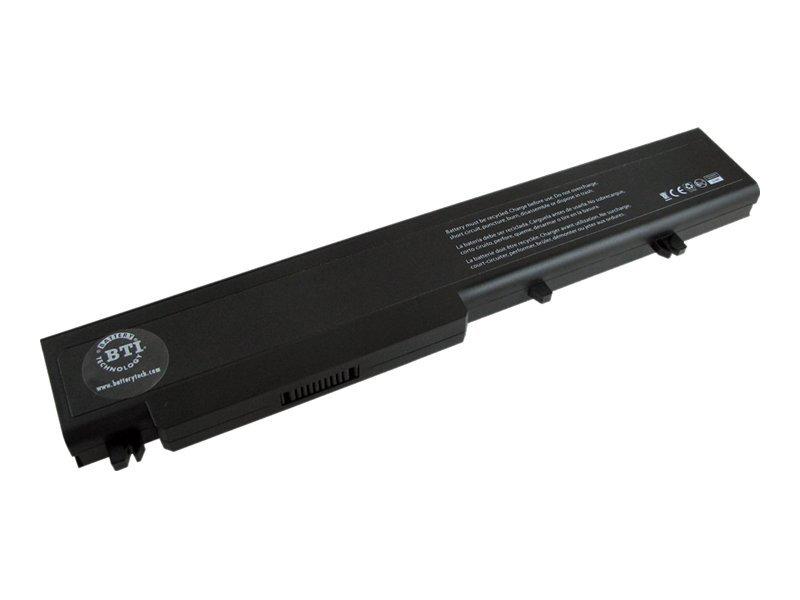 BTI - Laptop-Batterie (gleichwertig mit: Dell 312-0741, Dell P726C, Dell T117C, Dell T118C) - Lithium-Ionen - 8 Zellen - 5200 mA