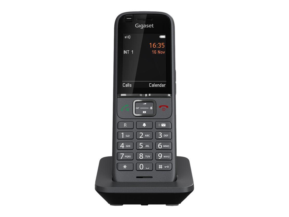Gigaset S700H PRO - Schnurloses Erweiterungshandgerät - mit Bluetooth-Schnittstelle mit Rufnummernanzeige - ECO DECT\GAP\CAT-iq