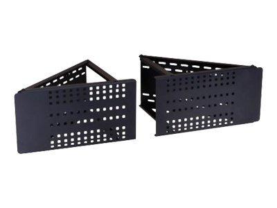 Peerless CM60 - Montagekomponente (Adapterplatte) für LCD-/Plasmafernseher - kaltgewalzter Stahl, Epoxidharz - Schwarz - Bildsch
