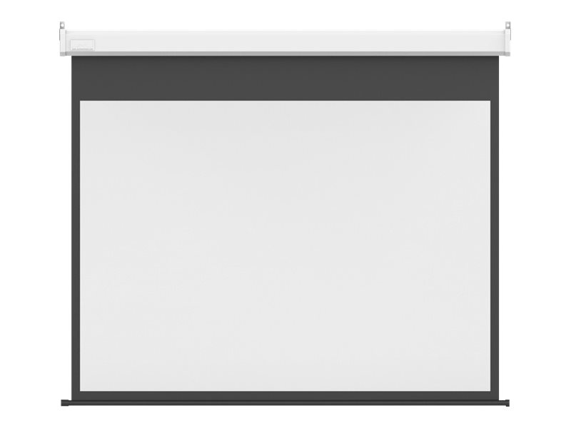 Multibrackets M Motorized Projection Screen Deluxe - Leinwand - motorisiert - 274 cm (108 Zoll) - 16:9 - Matte White
