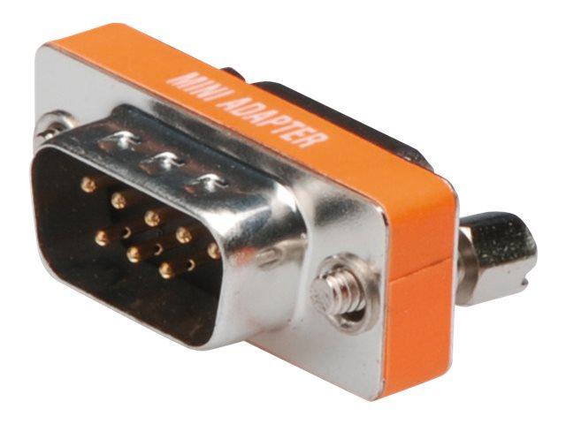 ASSMANN - Nullmodemadapter - DB-9 (M) bis DB-9 (W) - Daumenschrauben