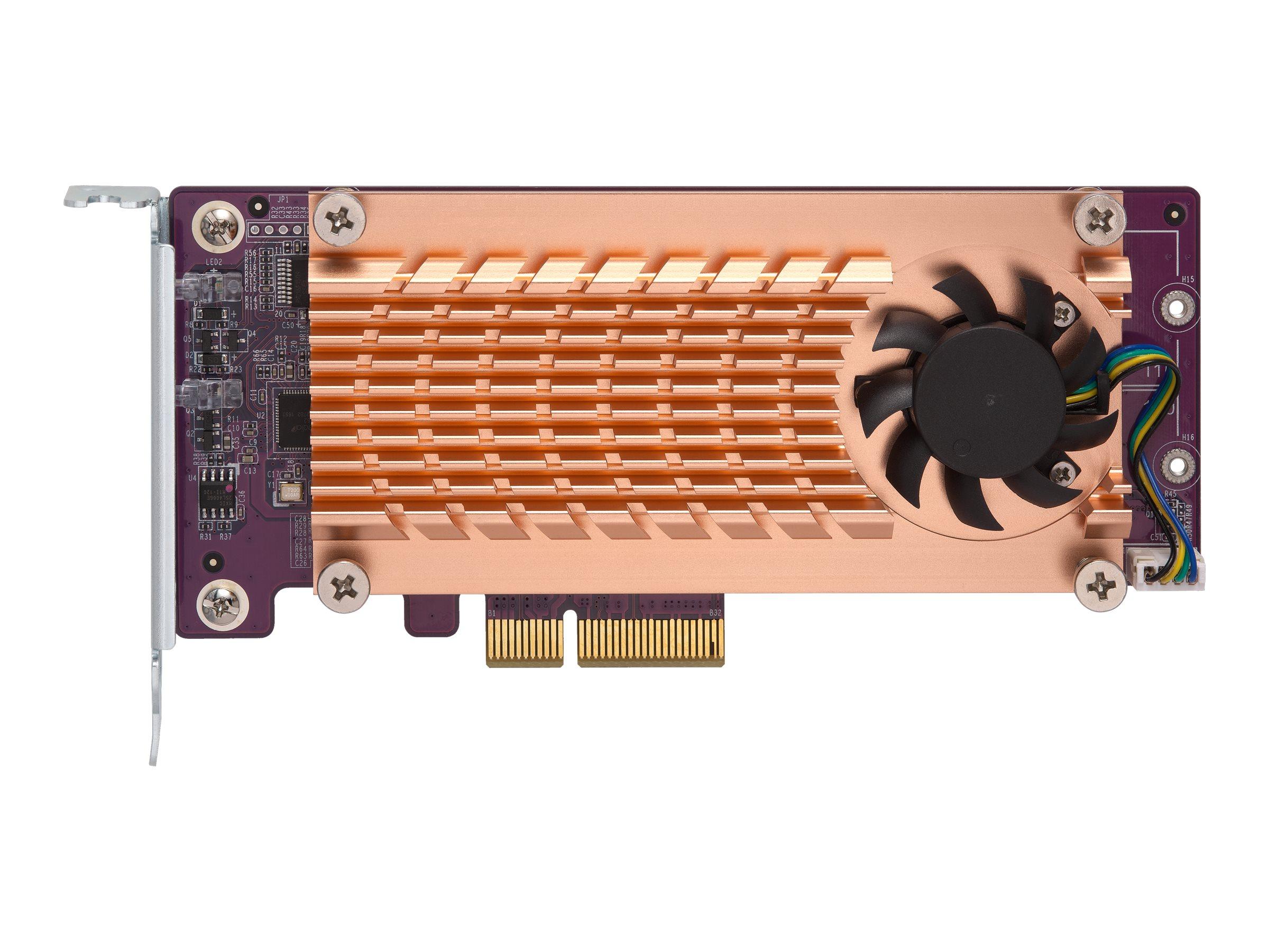 QNAP QM2-2S-220A - Speicher-Controller - SATA Low-Profile - PCIe 2.0 x2