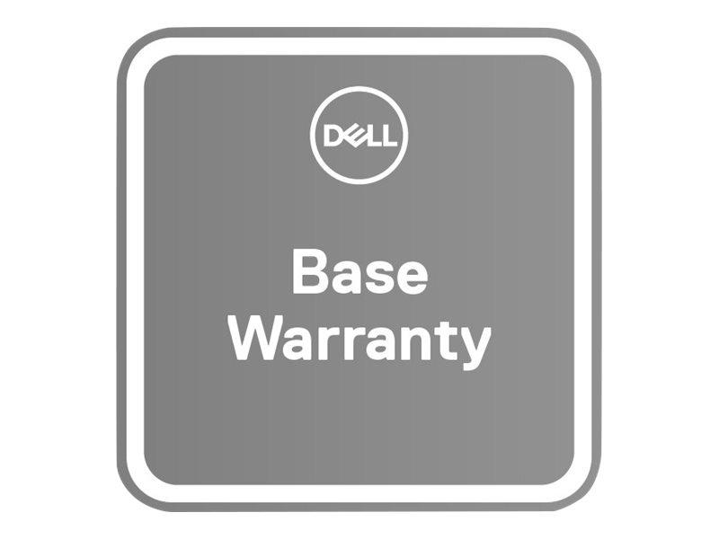 Dell Upgrade from 2Y Collect & Return to 3Y Basic Onsite - Serviceerweiterung - Arbeitszeit und Ersatzteile - 3 Jahre - Vor-Ort