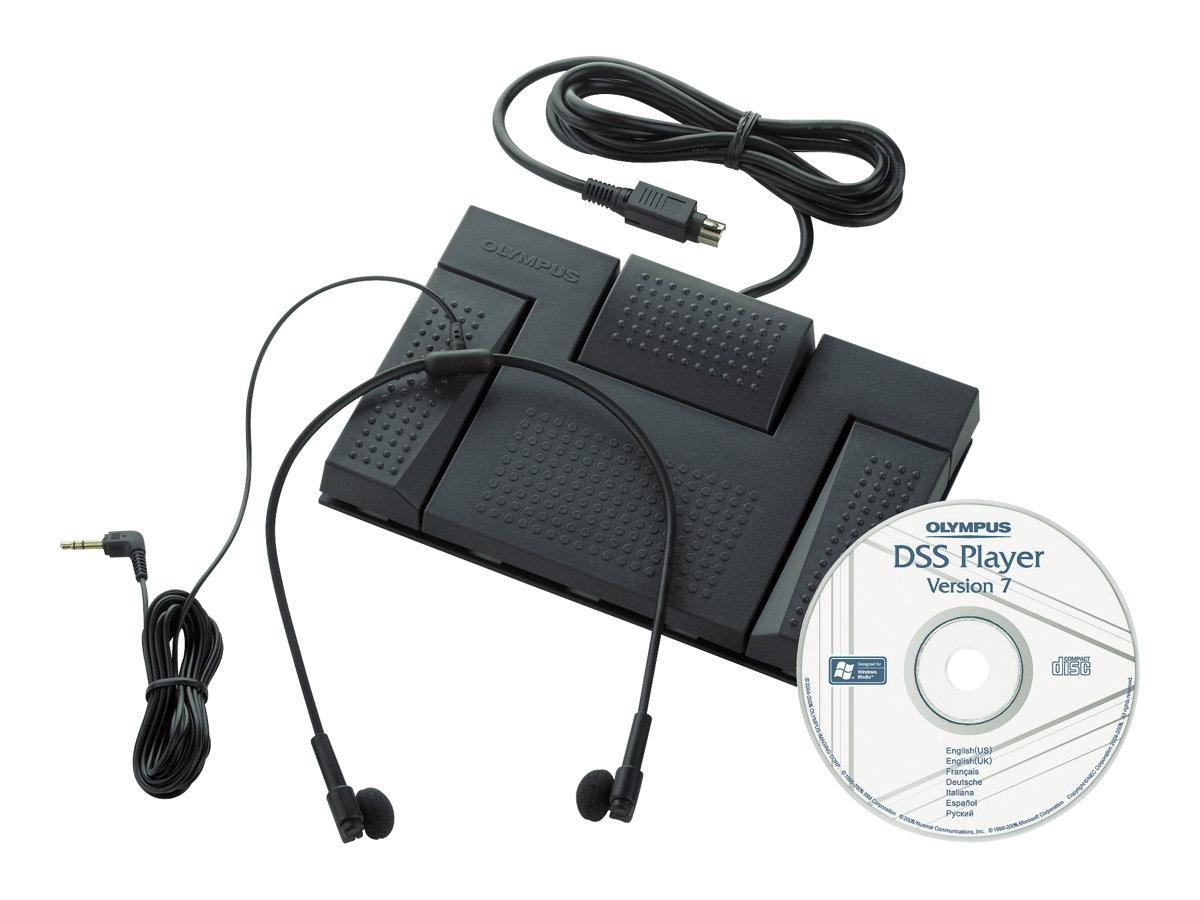 Olympus AS 2400 Transcription Kit - Zubehörkit für digitaler Sprachrekorder - für Olympus DS-2400