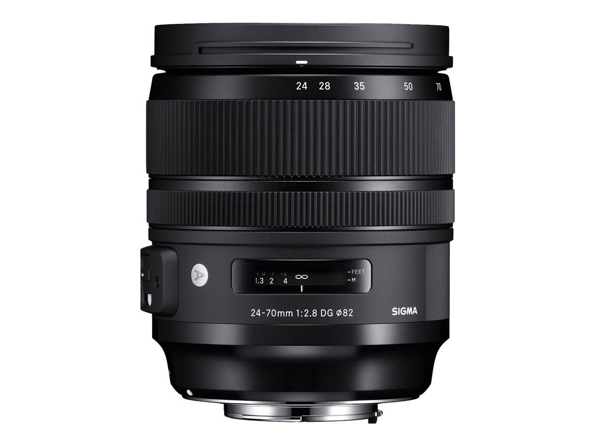 Sigma Art - Zoomobjektiv - 24 mm - 70 mm - f/2.8 DG OS HSM - Nikon F