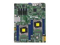SUPERMICRO X10DRD-i - Motherboard - Erweitertes ATX - LGA2011-v3-Sockel - 2 Unterstützte CPUs - C612