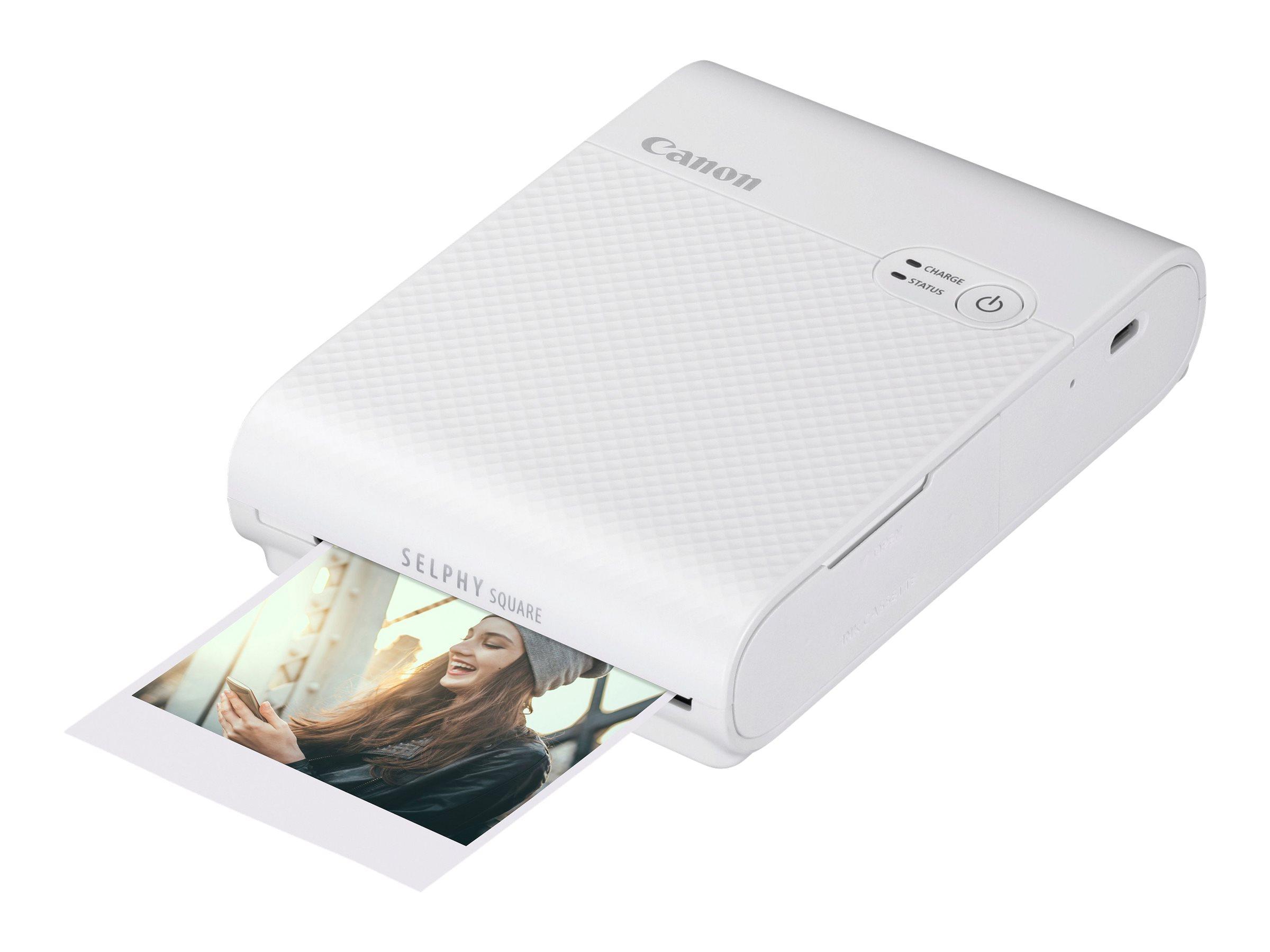 Canon SELPHY Square QX10 - Drucker - Farbe - Thermosublimation - 72 x 85 mm bis zu 0.7 Min./Seite (Farbe) - Wi-Fi