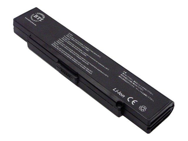 BTI - Laptop-Batterie (gleichwertig mit: Sony VGP-BPS2) - 1 x Lithium-Ionen 6 Zellen 5000 mAh - Schwarz - für Sony VAIO VGN-FE53