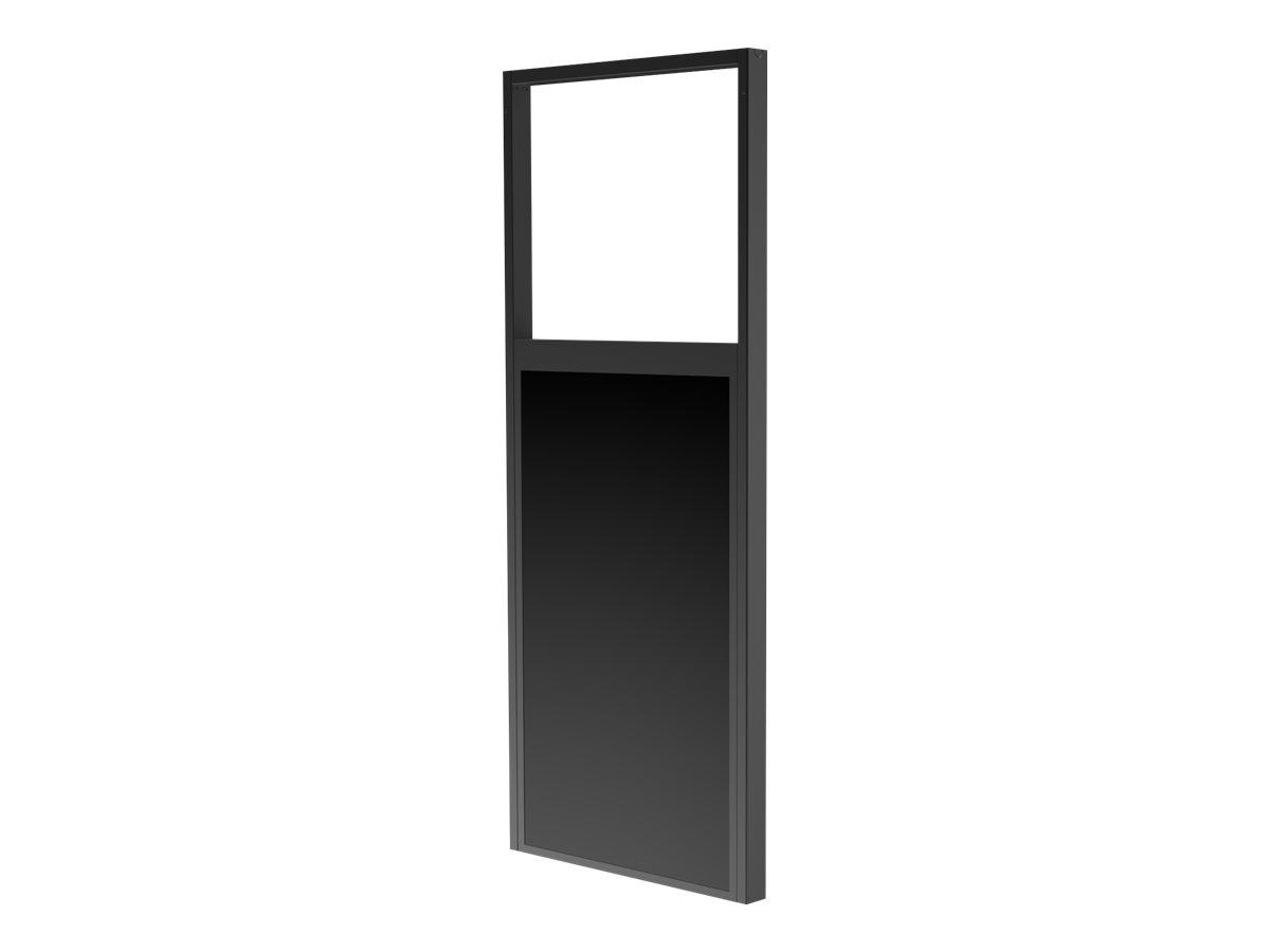 Peerless-AV SmartMount Ceiling Mount DS-OM46ND-CEIL - Deckenhalterung für LCD-Display - mattschwarz - Bildschirmgrösse: 116.8 cm
