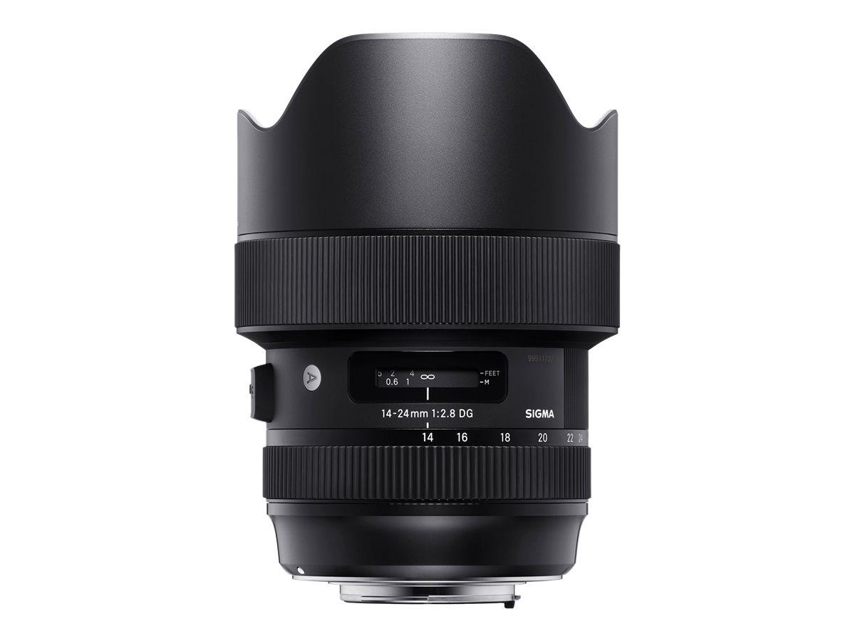 Sigma Art - Weitwinkel-Zoom-Objektiv - 14 mm - 24 mm - f/2.8 DG HSM - Nikon F