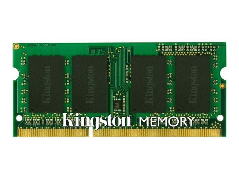 Kingston - DDR3 - 4 GB - SO DIMM 204-PIN - 1333 MHz / PC3-10600 - ungepuffert