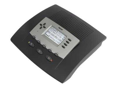 Tiptel 545 SD - Anruferkennung mit Anrufbeantworter - digital - Anthrazit
