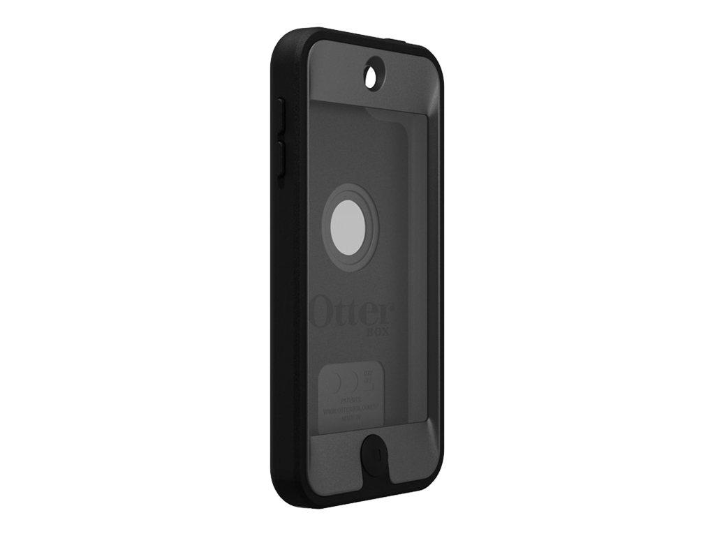 OtterBox Defender Series Apple iPod touch 5G - Tasche für Mobiltelefon / Player - Silikon, Polycarbonat - Coal - für Apple iPod