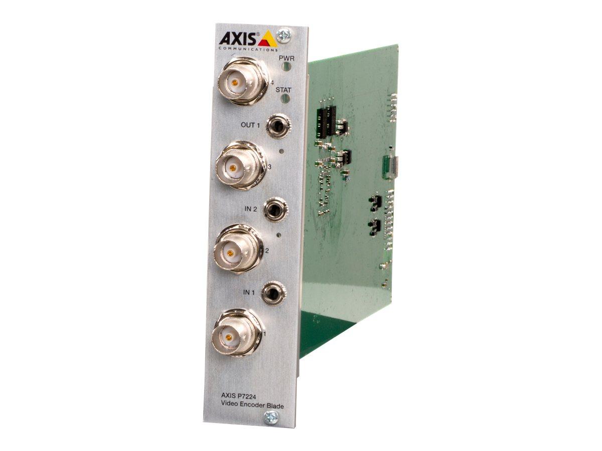 AXIS P7224 Video Encoder Blade - Video-Server - 4 Kanäle