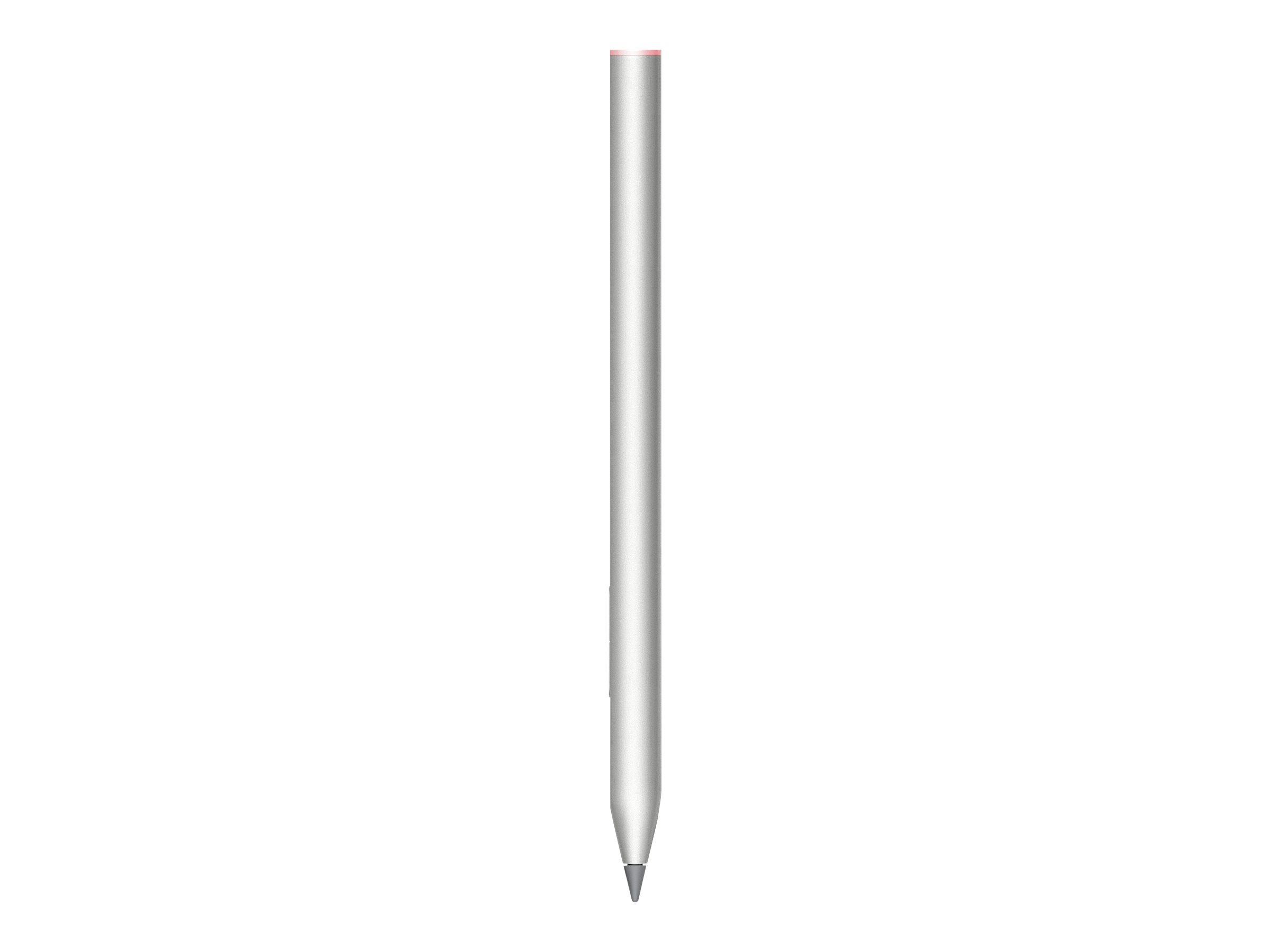 HP Rechargeable Tilt Pen - Digitaler Stift - Hecht-silberfarben - für ENVY x360; Pavilion x360; Spectre x360