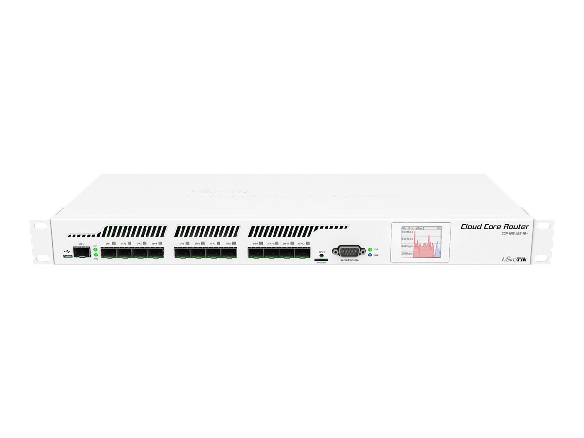 MikroTik RouterBOARD CCR1016-12S-1S+ - Router - 12-Port-Switch - GigE - an Rack montierbar