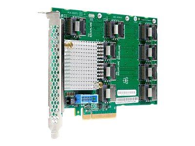 HPE SAS Expander Card - Speicherkontrolle-Aktualisierungskarte - 26 Sender/Kanal - SATA 6Gb/s / SAS 12Gb/s - 12 Gbit/s - PCIe
