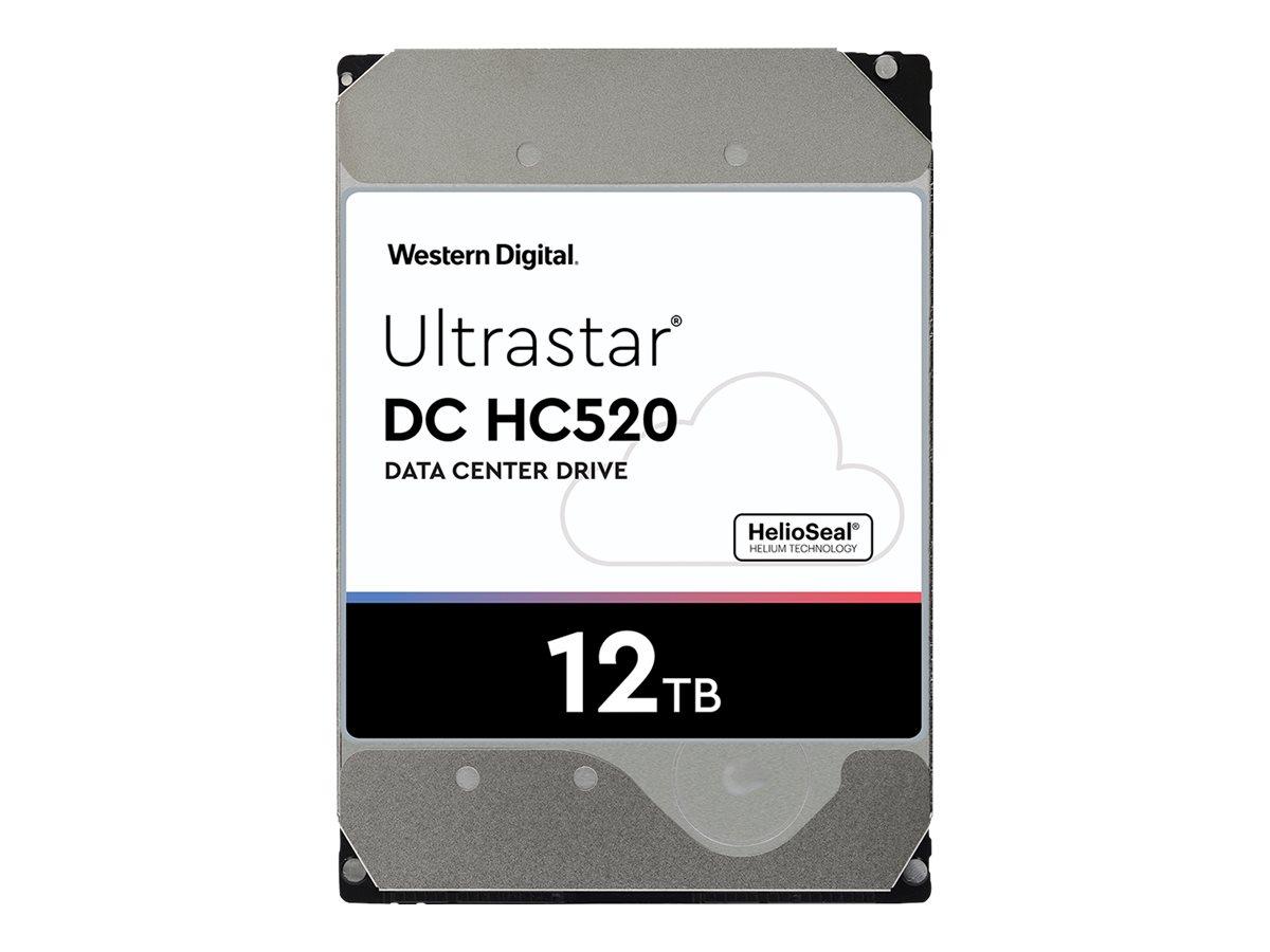WD Ultrastar DC HC520 HUH721212ALE604 - Festplatte - 12 TB - intern - 3.5