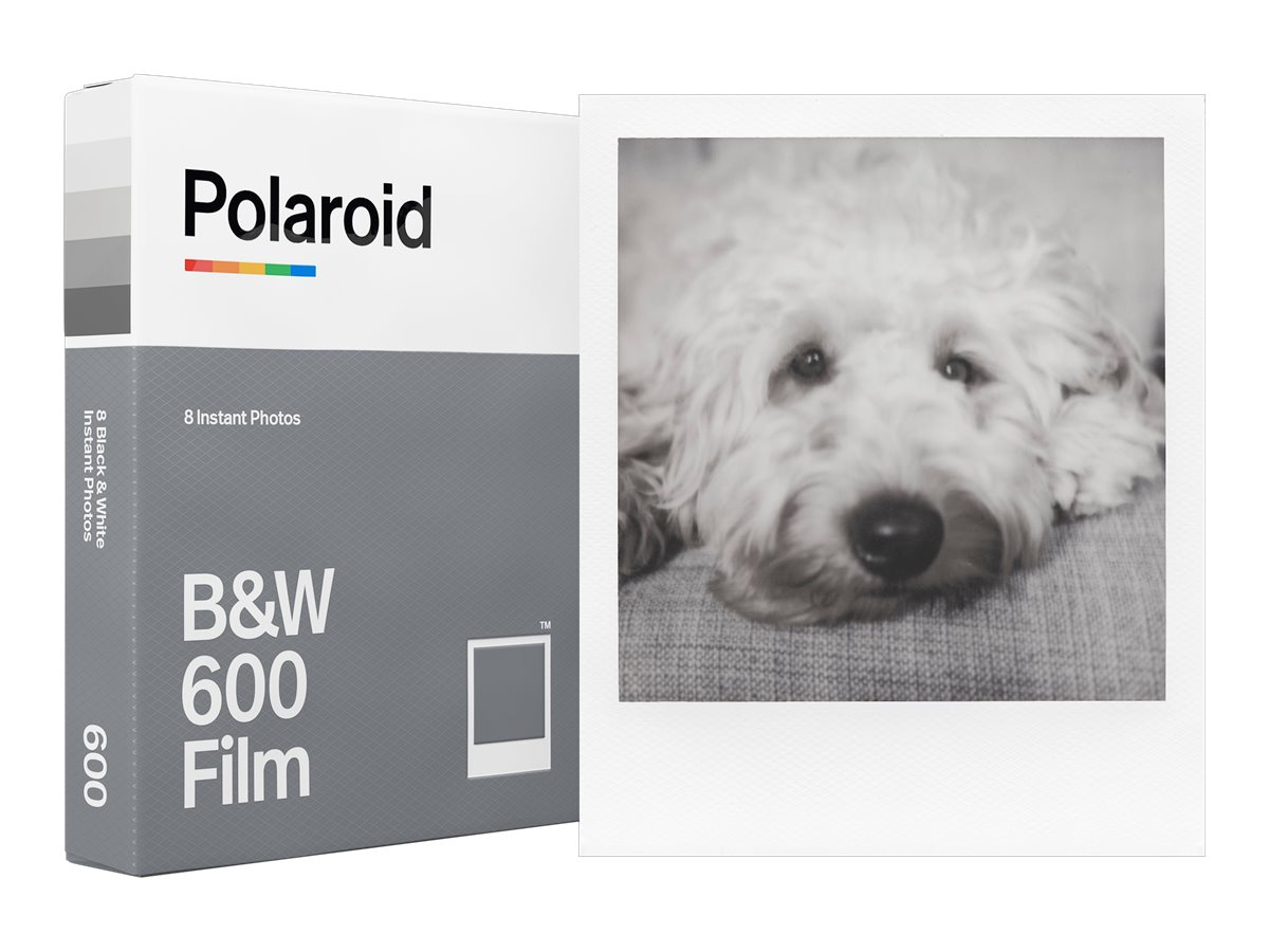 Polaroid - Schwarz-/Weiss-Sofortfilm - 600 - ASA 640 - 8 Belichtungen