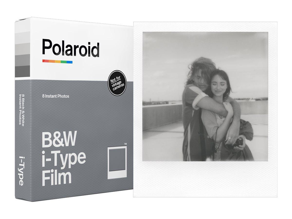 Polaroid - Schwarz-/Weiss-Sofortfilm - I-type - ASA 640 - 8 Belichtungen