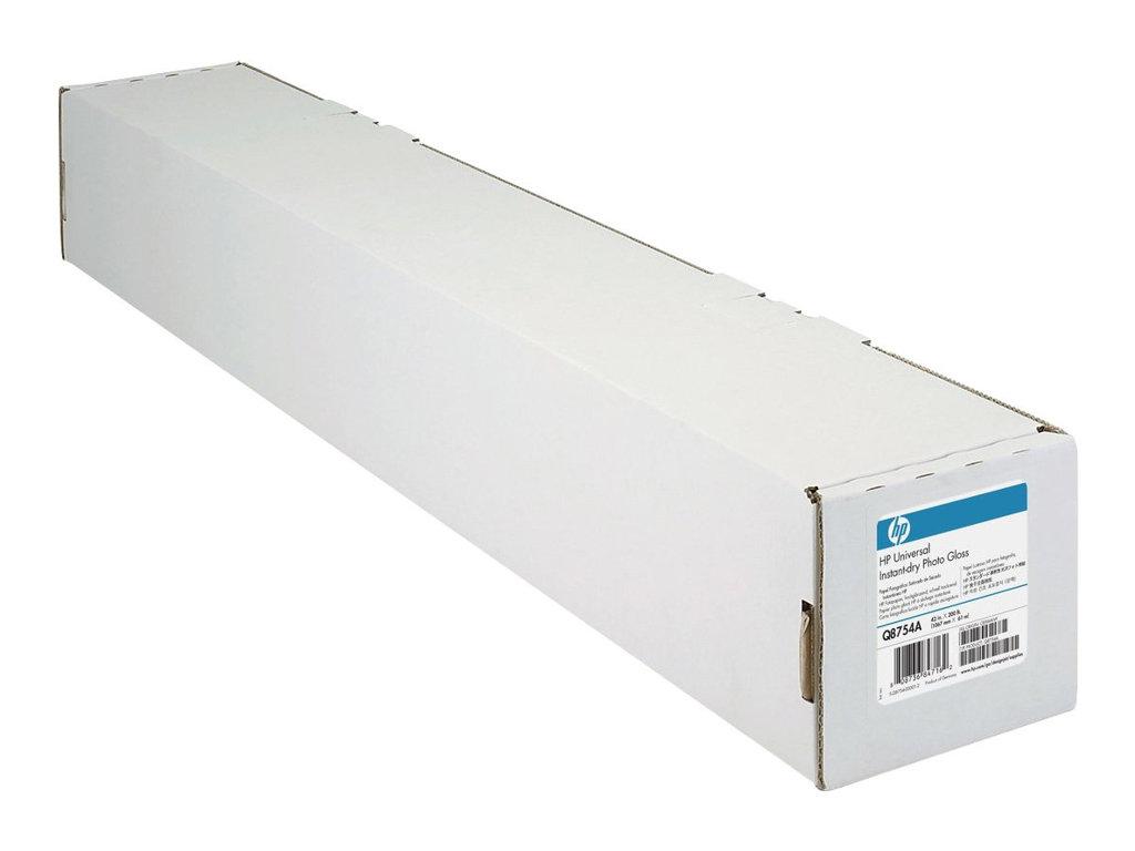 HP Universal - Polyethylen (PE), Holzfaser - glänzend - 7,7 mil - Rolle (106,7 cm x 30,5 m) - 200 g/m²