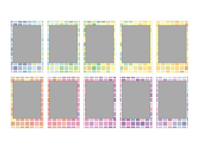 Fujifilm Instax Mini Stained Glass - Instant-Farbfilm - ISO 800 - 10 Belichtungen