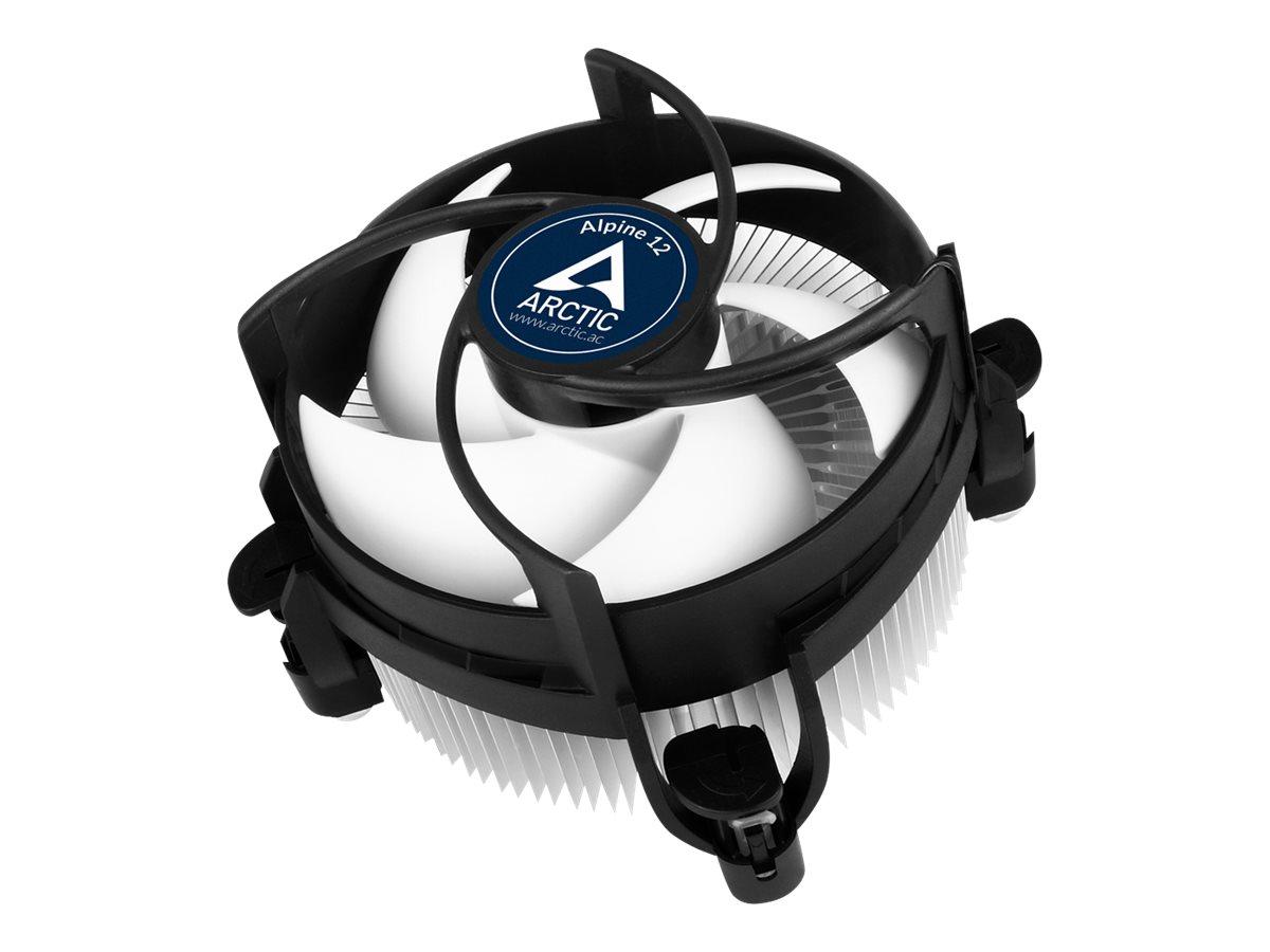 ARCTIC Alpine 12 - Prozessor-Luftkühler - (für: LGA1156, LGA1155, LGA1150, LGA1151) - Aluminium - 92 mm
