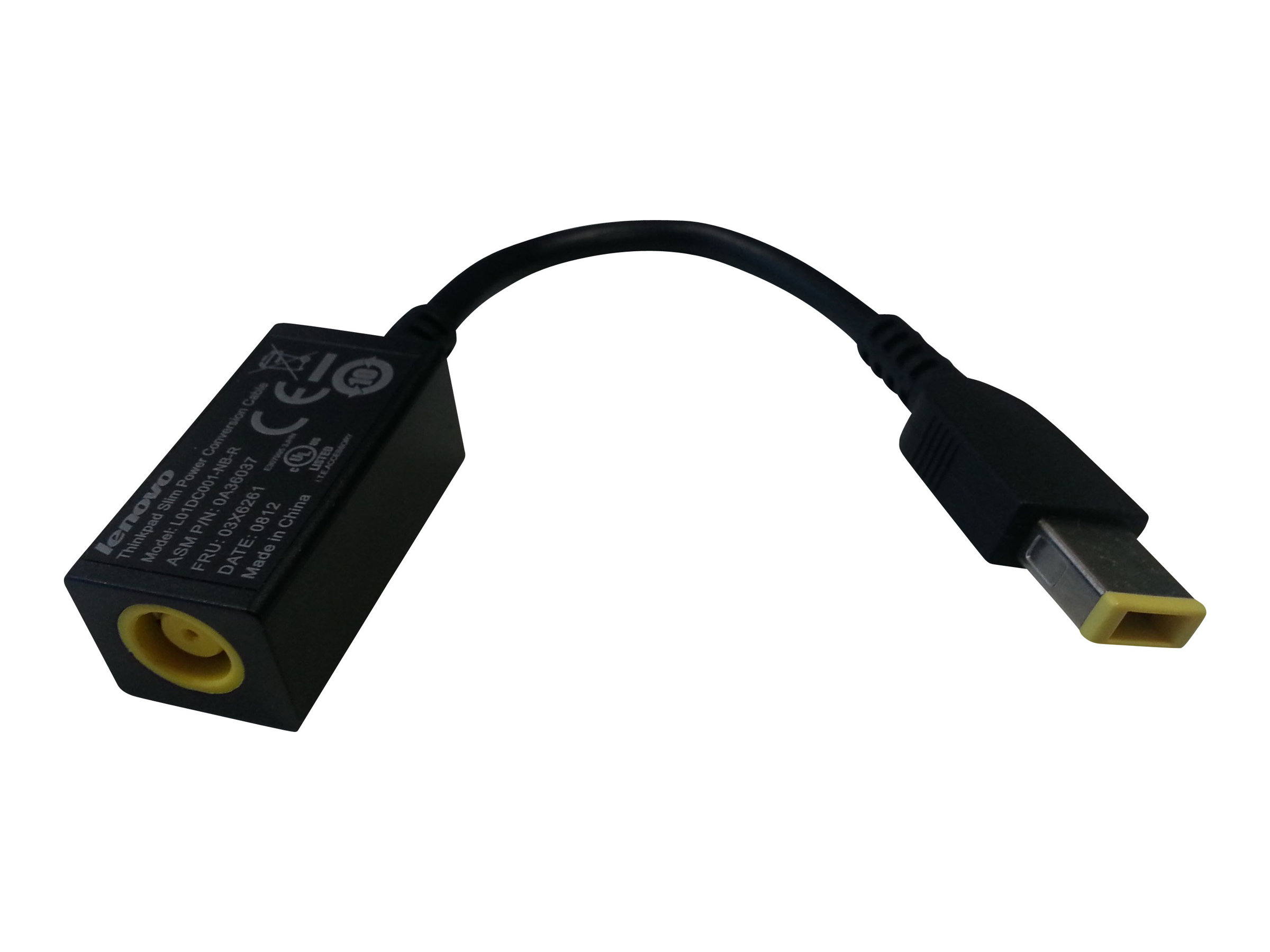 Lenovo ThinkPad Slim Power Conversion Cable - Stromkabel
