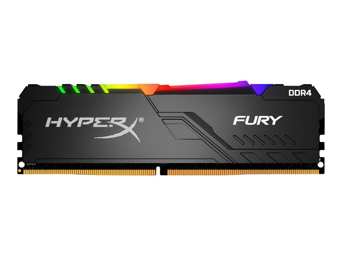 HyperX FURY RGB - DDR4 - 64 GB: 2 x 32 GB - DIMM 288-PIN - 3466 MHz / PC4-27700 - CL17
