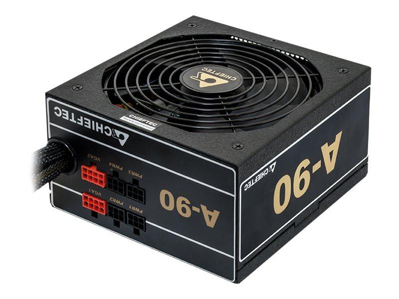 Chieftec A-90 Series GDP-550C - Stromversorgung (intern) - ATX12V 2.3 - 80 PLUS Gold - Wechselstrom 230 V - 550 Watt