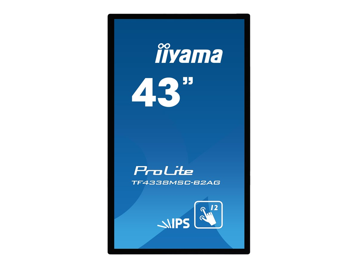 iiyama ProLite TF4338MSC-B2AG - LED-Monitor - 108 cm (43