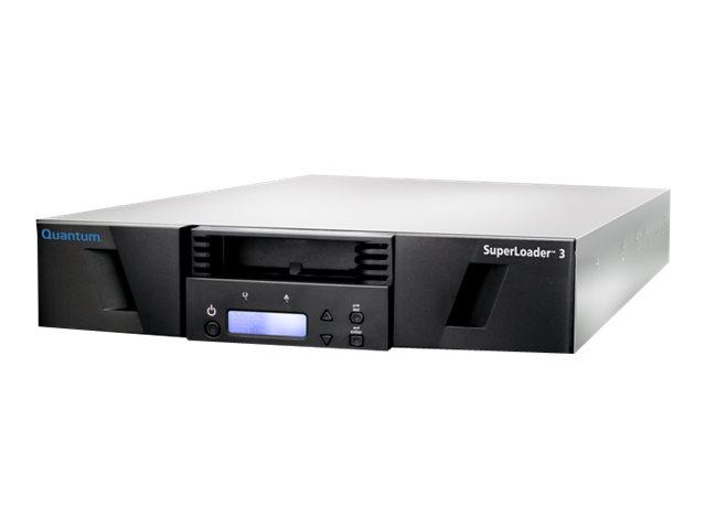 Quantum SuperLoader 3 with (Model C) drive(s) - Tape Autoloader - 96 TB / 240 TB - Steckplätze: 16 - LTO Ultrium (6 TB / 15 TB)