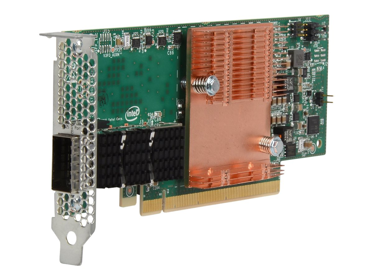 Intel Omni-Path - Netzwerkadapter - PCIe 3.0 x16 Low-Profile - 100 Gigabit QSFP28 x 1 - für ProLiant DL360 Gen10, DL385 Gen10, D