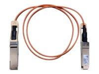 Cisco Direct-Attach Active Optical Cable - Netzwerkkabel - QSFP+ bis QSFP+ - 10 m - Glasfaser - SFF-8436