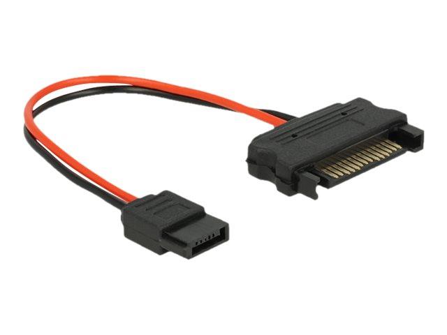 Delock - Stromkabel - SATA-Stromstecker (M) bis Slimline SATA Leistung (W) - 10 cm