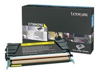 Lexmark - Hohe Ergiebigkeit - Gelb - Original - Tonerpatrone LCCP - für Lexmark C736dn, C736dtn, C736N, X736de, X738de, X738dte