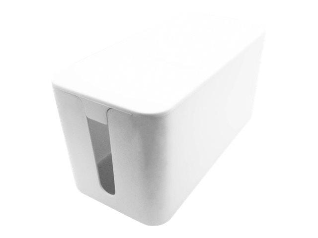 VALUE - Kabelmanagement-Box - weiss