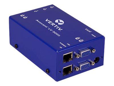 Avocent LongView 3000 Series - KVM-/Audio-/USB-Extender - USB - bis zu 300 m